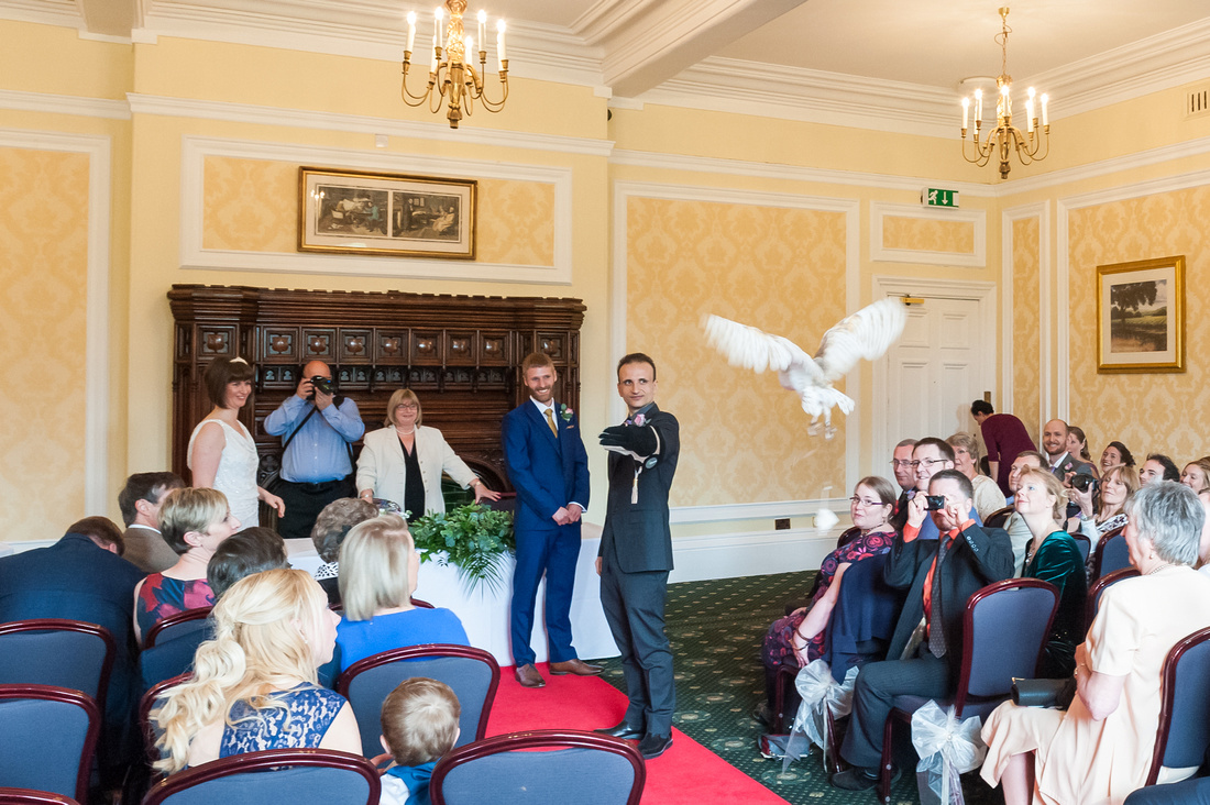 doncaster wedding photographer at yorkshire wedding venue