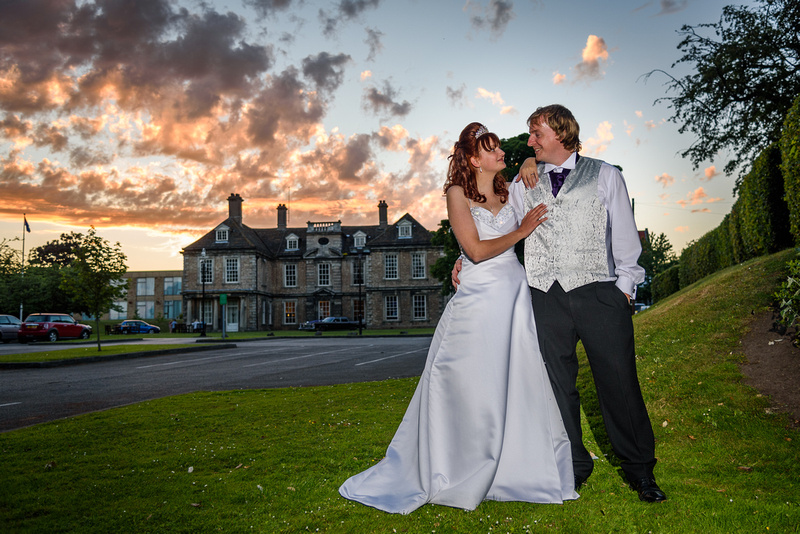 wedding photos former moat house hotel warms worth